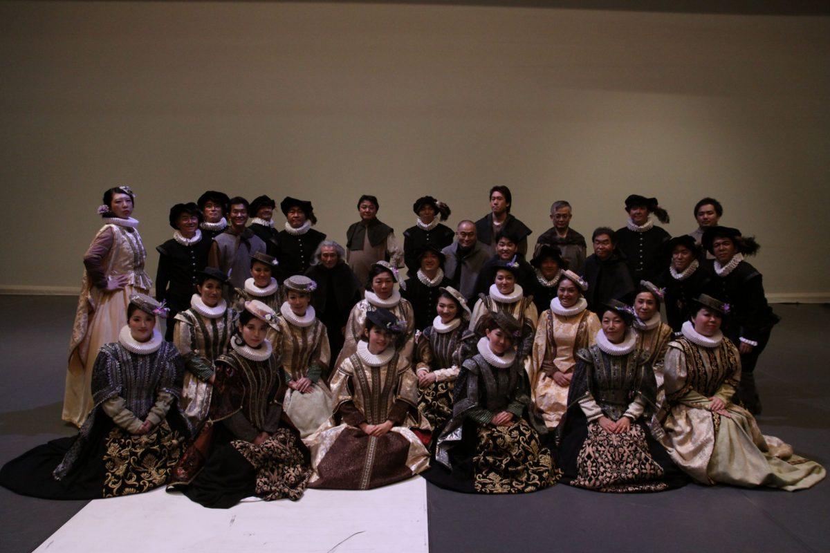 ヴェルディオペラ「ドン・カルロ」に出演した団員